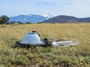 "RTI Dome Mark 2 ""in the field"", north of San Francisco Peaks, Flagstaff, Arizona"