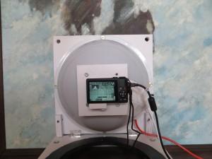 RTI Dome Mark 2 in vertical mode